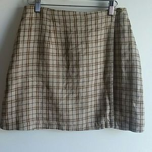 Old Navy wrap mini skirt